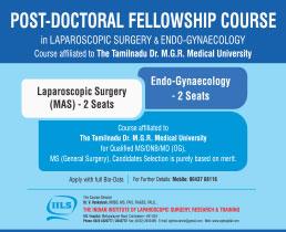 Laparoscopic Training India, Laparoscopic Surgery South